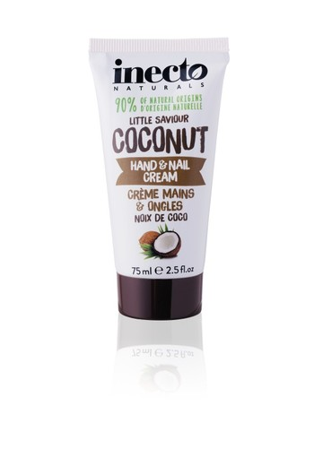 Inecto Naturals Coconut hand & nagelcreme (75 ml)