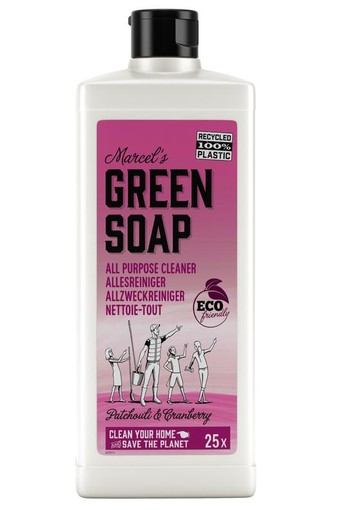 Marcel's GR Soap Allesreiniger patchouli & cranberry (750 ml)