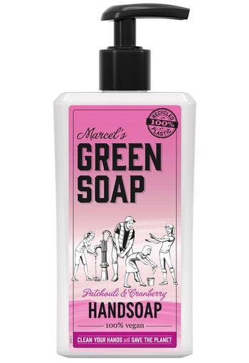 Marcel's GR Soap Handzeep patchouli & cranberry (250 ml)