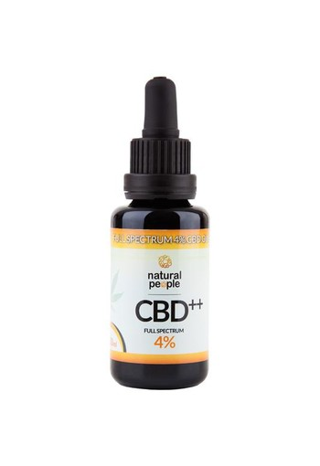 Natural People CBD olie 4% (30 ml)