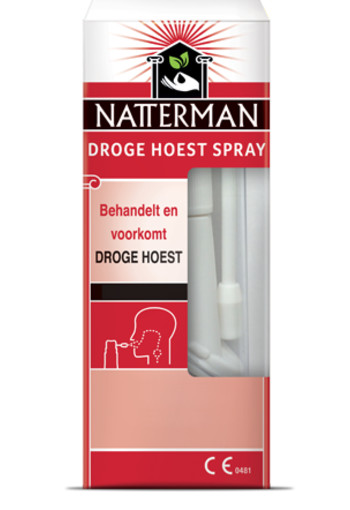 Natterman Droge Hoest spray 25ml