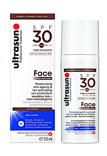 Ultrasun Face tan activ spray SPF30 (50 ml)