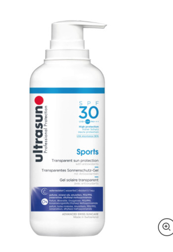 Ultrasun Sports gel SPF30 (400 ml)