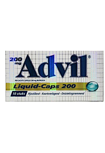 Advil Advil reliva liquid caps 200 (10 capsules)