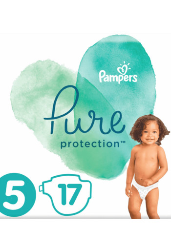 Pampers Pure Protection Maat 5 / 17 stuks