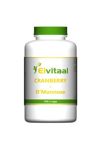 Elvitaal Cranberry & D-mannose (150 vcaps)