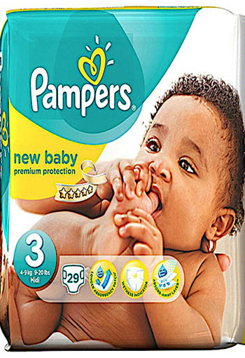 Pampers New Baby Midi 3 Midpak 29st