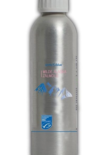 Arctic Blue Wilde zalmolie MSC (250 ml)