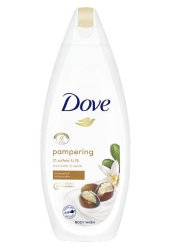 Dove Shower purely pampering shea butter vanilla (250 ml)