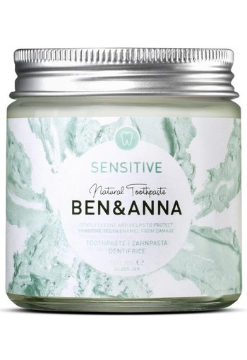 Ben & Anna Tandpasta sensitive (100 gram)