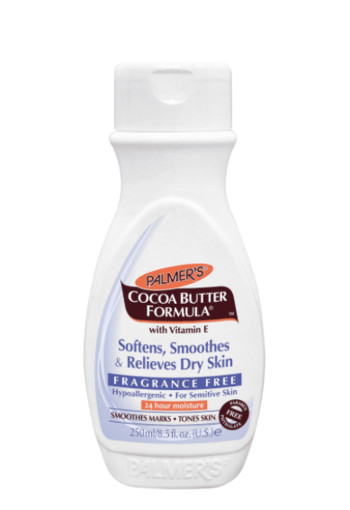 Palmers Cocoa butter formula lotion geurvrij (250 ml)