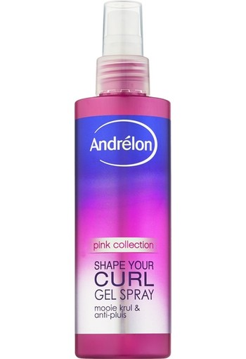 Andrelon Pink gelspray shape your curls (200 ml)