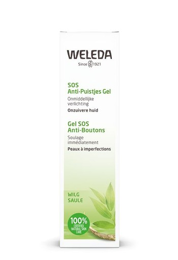 Weleda Naturally clear SOS anti puistjes gel (10 ml)