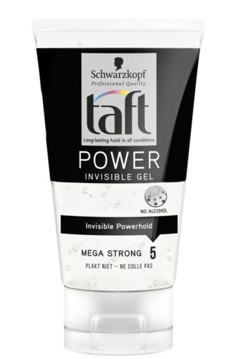 Taft Power Invisible Gel 150ml