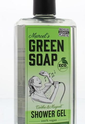 Marcel's GR Soap Shower gel tonka & muguet (500 ml)