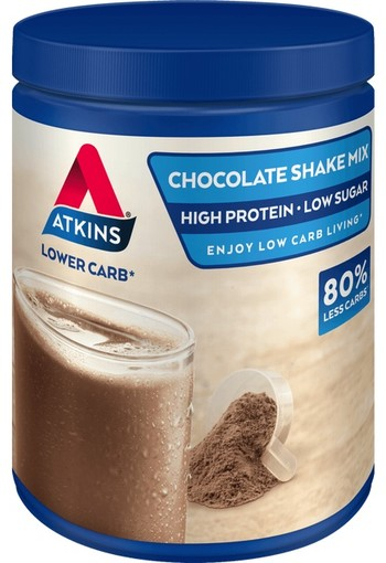 Atkins Chocolate Shake Mix (poeder) 370g