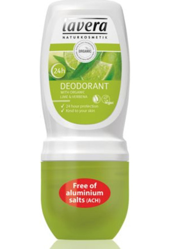 Lavera Deodorant roll-on lime and verbena (50 ml)