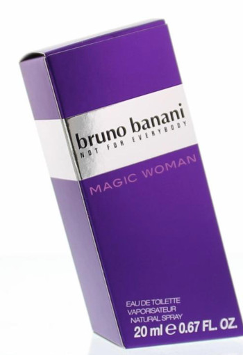 Bruno Banani Magic woman eau de toilette (20 ml)