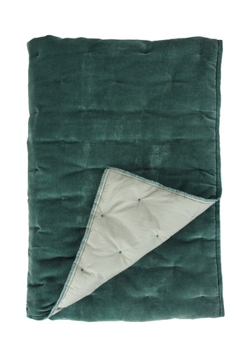 Walra Plaid Velvet Touch Groen