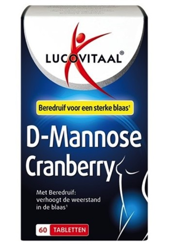 Lucovitaal D-mannose cranberry (60 tabletten)