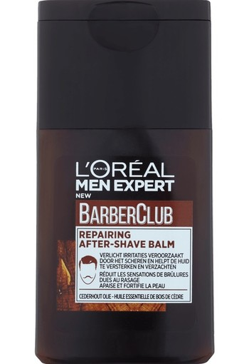Loreal Men expert barber club aftershave 125 ml