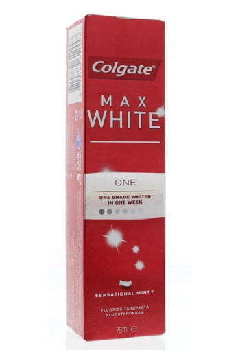 Colgate Tandpasta max white one (75 ml)