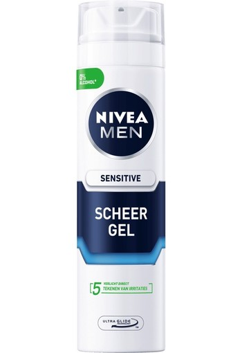 Nivea Men scheergel sensitie (200 ml)
