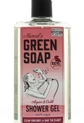 Marcel's GR Soap Shower gel argan & oudh (500 ml)