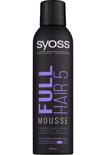 Syoss Mousse full hair 5 haarmousse (250 ml)