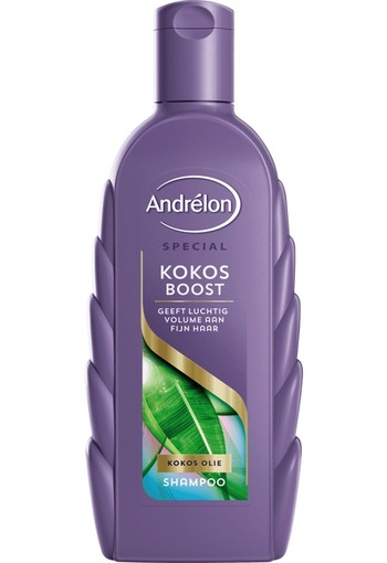 Andrelon Shampoo kokos boost (300 ml)