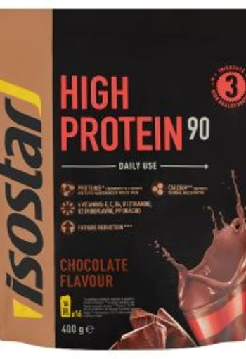 Isostar High protein 90 chocolate flavour (400 gram)