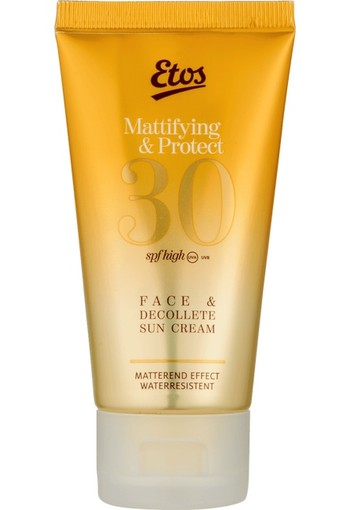 Etos Mattifying Face & Decollete Sun Protection Cream SPF30 50 ml