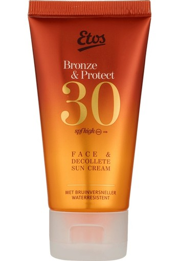 Etos Bronze Face & Decollete Sun Protection Cream SPF 30 - 50 ml