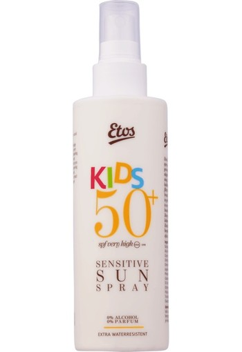 Etos Sensitive Kids Sun Protection Spray SPF50+ 200ml