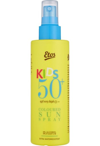 Etos Kids Coloured Sun Protection Spray SPF50+ 200ml