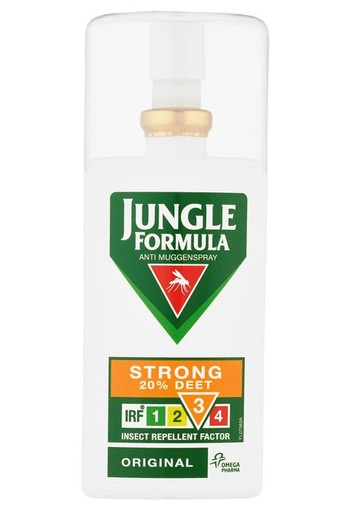 Jungle Formula Original Anti Muggen Spray Strong 20% Deet 75 ml