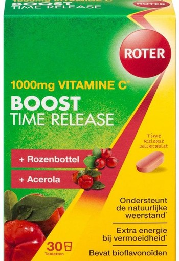 Roter Vitamine C 1000 mg Pro boost time released (30 tabletten)