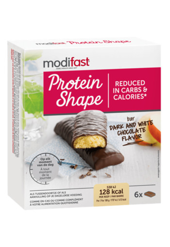 Modifast Protein Shape Bar Dark & White Chocolate Flavor
