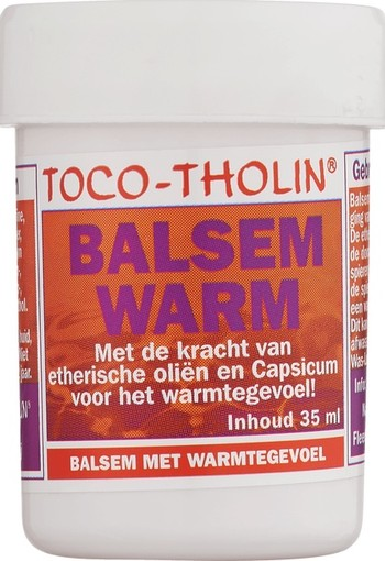 Toco-Tholin Balsem Warm 35 ml